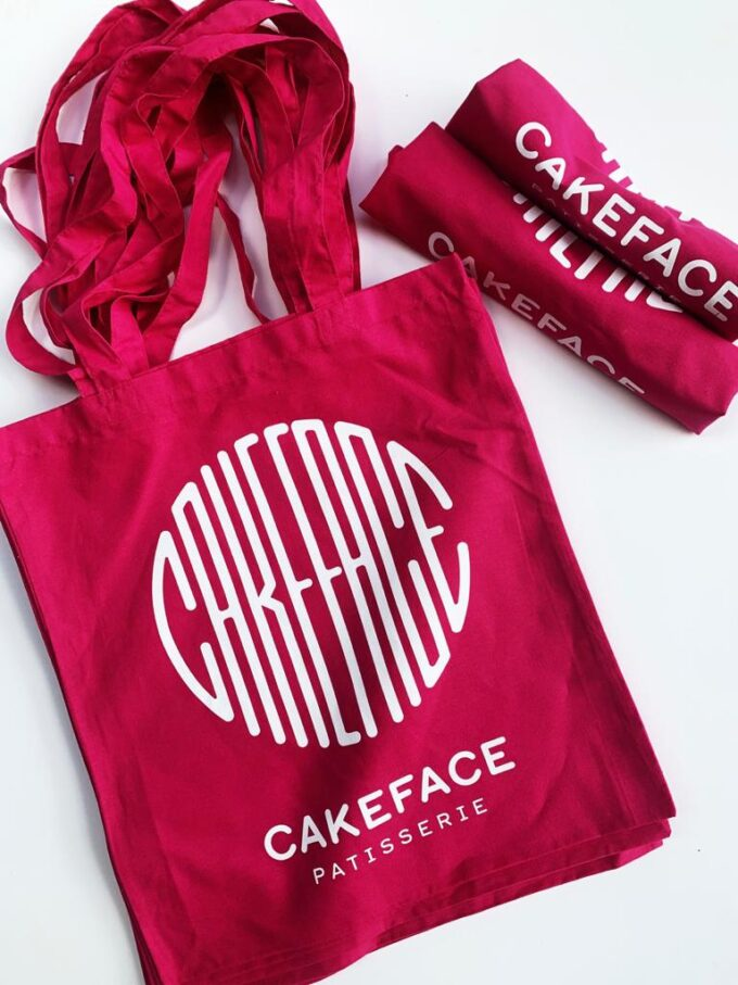 Cakeface Tote Bag